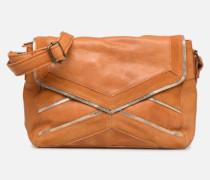 Cornelia Leather Crossbody Handtasche in braun
