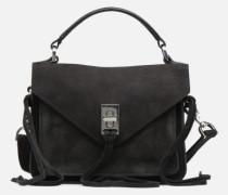 Mini Darren Messenger Handtasche in schwarz