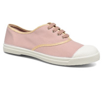 Tennis Shinypiping Sneaker in rosa