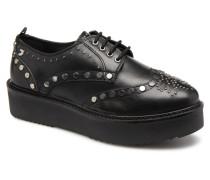 42004 Schnürschuhe in schwarz
