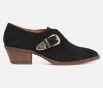 Soft Folk Chaussures à Lacets #1 Stiefeletten & Boots in schwarz