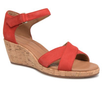 Un Plaza Cross Sandalen in rot