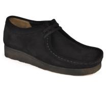 Wallabee F Schnürschuhe in schwarz