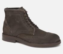 SLHFILIP SUEDE BROGUE BOOT B Stiefeletten & Boots in braun