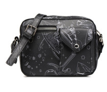 Paul & Joe Sister Messenger Kiwi Handtasche in schwarz