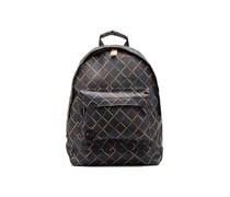 Gold crisscross Backpack Rucksäcke für Taschen in mehrfarbig