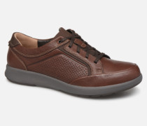 UN TRAIL FORM Sneaker in braun