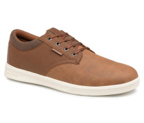 Jack & Jones JFW Gaston Pu Combo Sneaker in braun