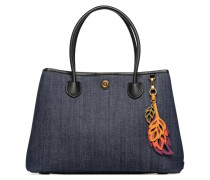 Millebrook Market Tote L Handtasche in blau