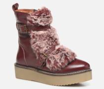 42003 Stiefeletten & Boots in weinrot