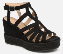 175011F2T Sandalen in schwarz
