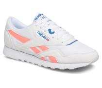 CL NYLON M TXT Sneaker in weiß