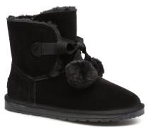 LUNA TOGGLE Stiefel in schwarz