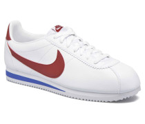 Classic Cortez Leather Sneaker in weiß