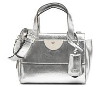 Anuka Small Satchel Handtasche in silber