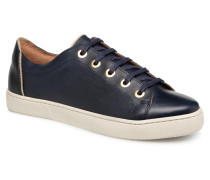 Tennis Lacets Crantees Sneaker in blau