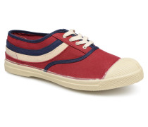 Tennis Waves Sneaker in weinrot