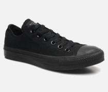 Chuck Taylor All Star Monochrome Canvas Ox W Sneaker in schwarz