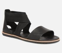 Ella Sandal Sandalen in schwarz