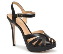 LOUMY Sandalen in schwarz