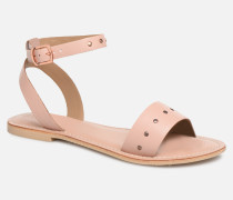 Vmlouisa Leather Sandal Sandalen in rosa