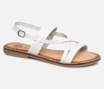 45382 Sandalen in weiß