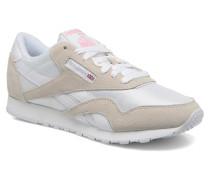 Classic Nylon W Sneaker in weiß