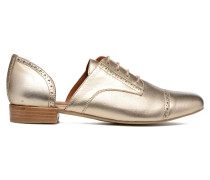Mariachichi #3 Schnürschuhe in goldinbronze