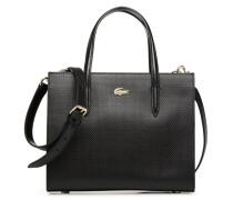 CHANTACO CABAS Handtasche in schwarz