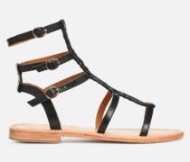 UrbAfrican Plagettes #1 Sandalen in schwarz