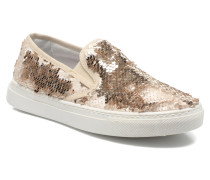 Periette Sneaker in goldinbronze