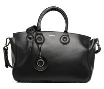 ŒILLETS Cabas Handtasche in schwarz