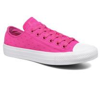Chuck Taylor All Star II Ox Shield Lycra Sneaker in rosa