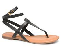 Laiktane Sandalen in schwarz