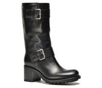 Biker 7 Mid Strap Stiefeletten & Boots in schwarz