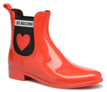 Rain Plain Anckle Boot Stiefeletten & Boots in rot