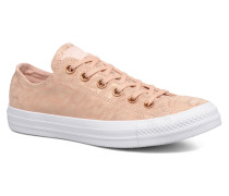 Chuck Taylor All Star Shimmer Suede Ox Sneaker in rosa