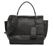 Shailene Top Handle Flap Handtasche in schwarz