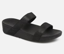 Lottie Glitzy Slide Clogs & Pantoletten in schwarz