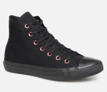 Chuck Taylor All Star Hearts Hi Sneaker in schwarz