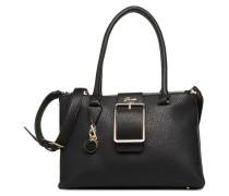 CAROLINE STATUS SATCHEL Handtasche in schwarz