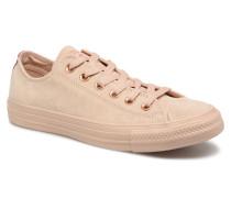 Chuck Taylor All Star Tonal P. Suede Ox Sneaker in beige