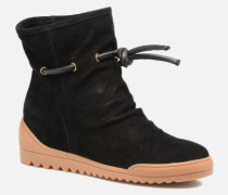 Line Stiefeletten & Boots in schwarz