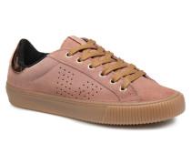 Deportivo Serraje gum Sneaker in rosa