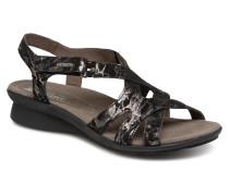 Parcela Sandalen in schwarz