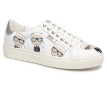 Kupsole Multikonic Karl Lo Lace Sneaker in weiß