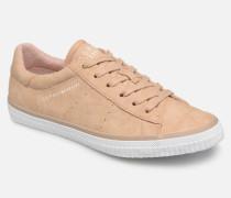 Riata Lace Up Sneaker in beige