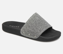 CHICA SLIPPER Clogs & Pantoletten in silber