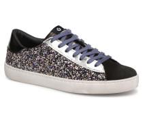 Deportivo Glitter Contraste Sneaker in silber