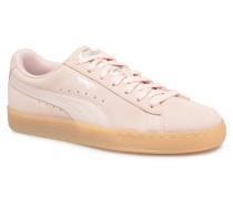 Suede Classic Bubble Wn's Sneaker in rosa